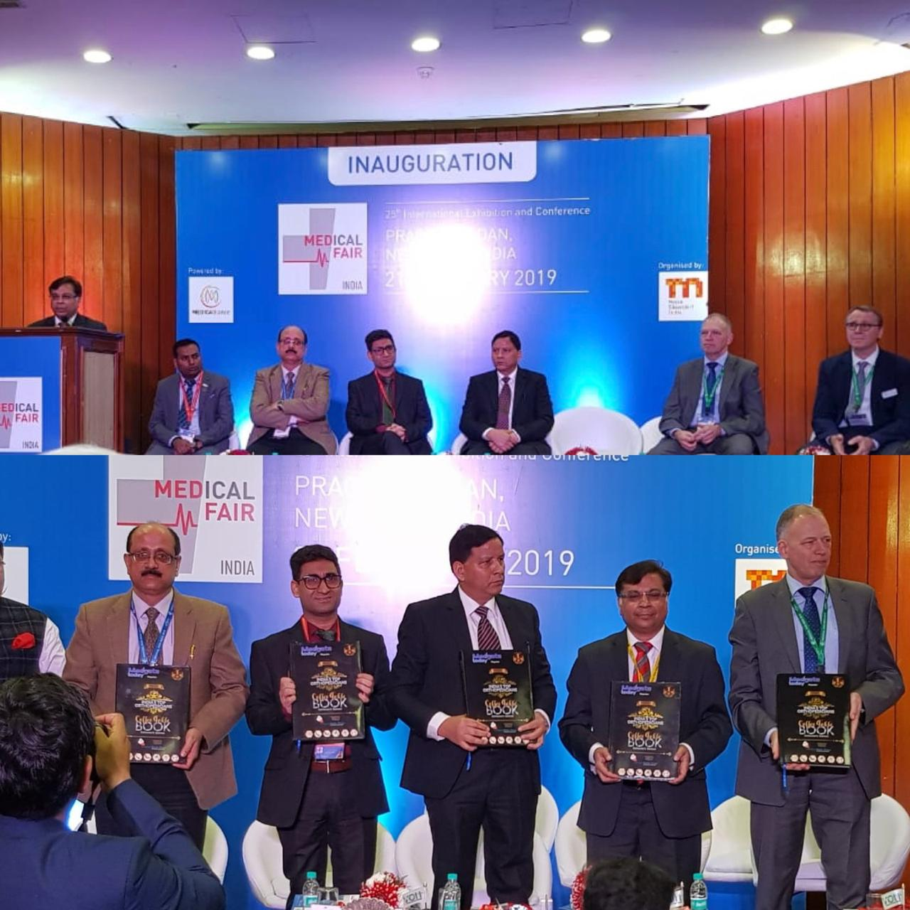 Medical Fair India 2019 starts with over 250 Indian Exhibitors